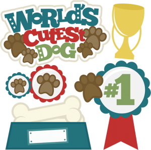 World's Cutest Dof SVG cutting files dog svg cut files dog svg files for scrapbooking