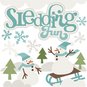 Sledding Fun SVG cutting files free svg cuts winter svg cuts free svg files