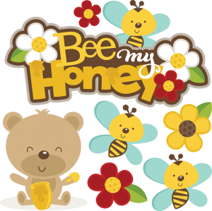 Bee My Honey SVG bundle for scrapbooking cardmaking valentines svg files free svgs cute svg cuts