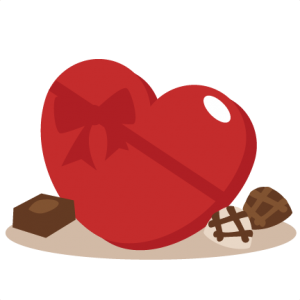 Valentine Chocolates SVG cutting files valentines day clipart cute clipart free svg cut files