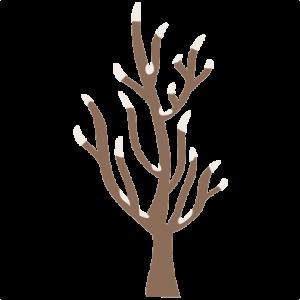 Winter Tree SVG cutting files winter svg cuts winter border clipart winter free svg cuts