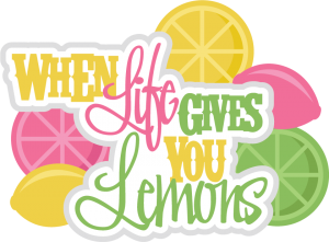 Life Gives You Lemons SVG scrapbook title lemons svg cuts scrapbook titles svg files