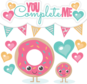 You Complete Me SVG cutting files free svg cuts donut svg cuts donut svg cut files