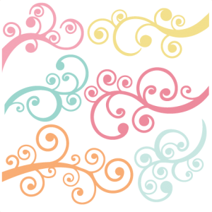 Flourishes SVG autumn svg file svg files for scrapbooking cute clipart fall svg cut files