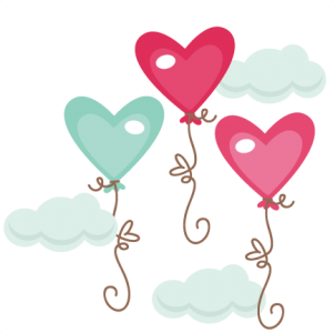 Heart Balloons SVG cutting files heart balloons svg cuts free svg files heart svg cut files