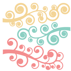 Swirl Flourish Set SVG cut files flourish svg cut files flourish svg files free svgs free svg cuts