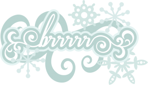 brrrrr Title SVG cutting file svg scrapbook title winter svg cut file snowflakes svg cut files free svgs
