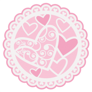 Valentine Doily SVG cutting file for scrapbooking cardmaking valentines svg files free svgs cute svg cuts