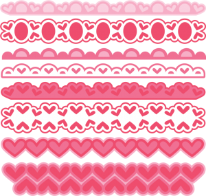 Valentine Borders SVG cut files valentine alphabet svg cuts free svg files free svg cuts