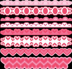 Valentine Borders SVG cut files valentine alphabet svg cuts free svg files free svg cuts
