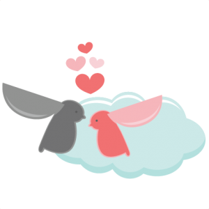 Love Birds On Cloud SVG cut files valentines day svg cut files free svgs free svg cuts cute clipart