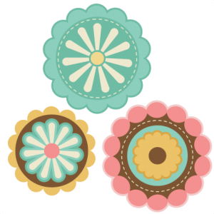Layered Flowers  SVG cutting file for scrapbooking free svg cuts free svgs flower svg files