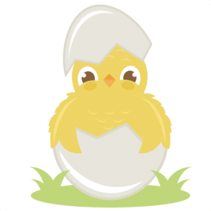 Hatching Chicken SVG cut file chick in egg svg cut file spring svg cut files free svgs