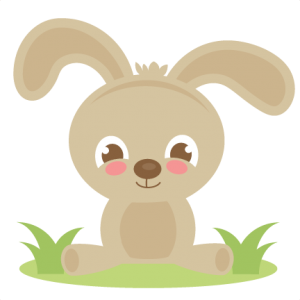 Spring Bunny SVG cutting files for cutting machines scut files svg cut files for scrapbooks