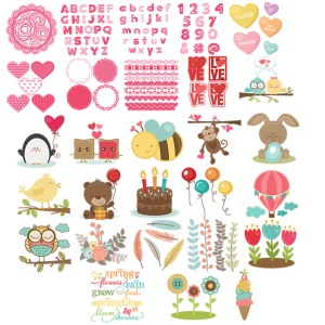 Miss Kate Cuttables February 2014 Freebies Free SVG files for scrapbooking free svg files for cutting machines free svg files