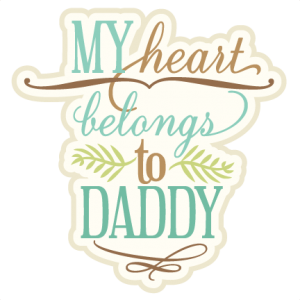 My Heart Belongs To Daddy  SVG cutting file phrase svg cut files