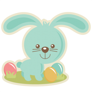 Easter Bunny SVG cutting files easter egg svg cut file easter eggs cut files for scrapbooks