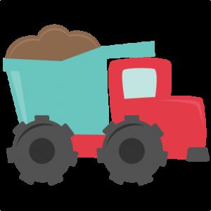 Dump Truck SVG cutting files for scrapbooking dump truck svg cut file