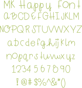Miss Kate Happy Font free font