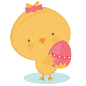 Chick Holding Egg SVG cut file chick in egg svg cut file spring svg cut files free svgs