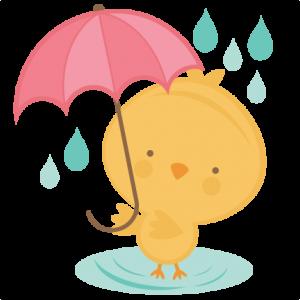 Chick Holding Umbrella SVG cut file chick in egg svg cut file spring svg cut files free svgs