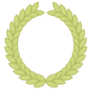 Olive Wreath SVG cutting file loive wreath svg cut file for cutting machines olive wreath clipart