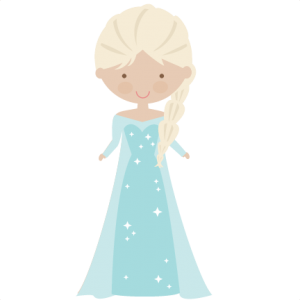 Snow Princess SVG cut files princes svg cut files princes svg files for scrapbooking