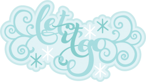 Let It Go SVG scrapbook title svg cut files svg scrapbook titles