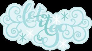 Let It Go SVG scrapbook title svg cut files svg scrapbook titles