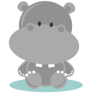 Baby Hippo SVG cutting file hippo svg cut file free svgs free svg cuts