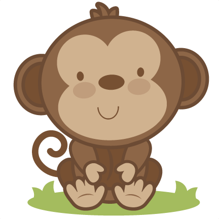 Monkey silhouette png - photo#52