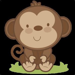 Baby Monkey SVG cutting file monkey svg cut file free svgs free svg cuts