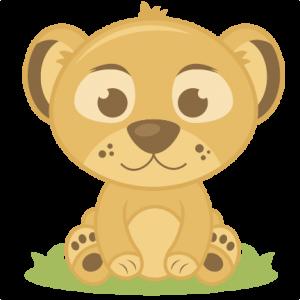 Baby Lion SVG cutting files elephant svg cut file baby elephant svg file for scrapbooking