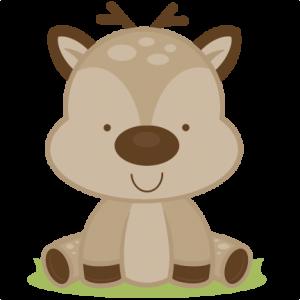 Baby Deer SVG cutting files deer svg cut file baby deer svg file for scrapbooking