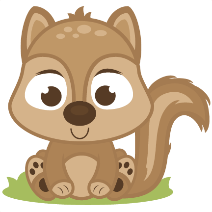 Baby Squirrel Svg Cutting Files Deer Svg Cut File Baby