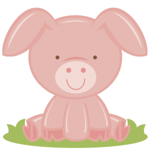 Baby Pig SVG cutting file for scrapbooking free svg cuts free svg files baby pig svg cut file