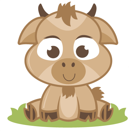Baby Goat SVG cutting file baby svg cut file free svgs ...
