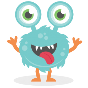 Big Eyed Monster SVG cutting file monster svg cut files for scrapbooking scal files scut files mtc files