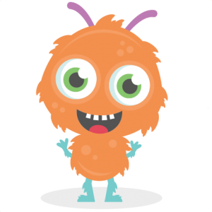 Hairy Monster SVG cutting file monster svg cut files for scrapbooking scal files scut files mtc files