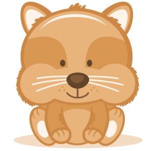 Baby Hampster SVG cutting file baby svg cut file free svgs free svg cuts hampster svg cut file