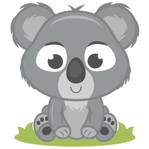 Baby Koala SVG cutting file baby svg cut file free svgs free svg cuts koala svg cut file