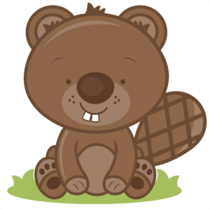 Baby Beaver SVG cutting file baby svg cut file free svgs free svg cuts beaver svg cut file