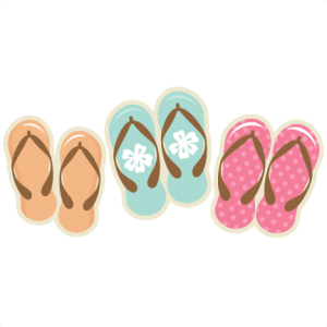 Flip Flop SVG cutting files summer svg cuts beach svg cut files beach cut files for scal scut files cricut