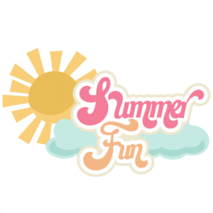 Summer Fun SVG scrapbook title summer svg cut files summer svg scrapbooking title scal files