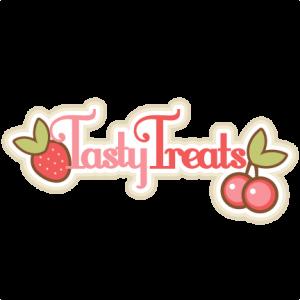 Tasty Treats Title SVG scrapbook title svg scrapbook title free svg cuts
