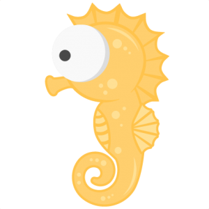 Seahorse SVG scrapbook title beach svg cut file ocean svg cut file cute svg cuts