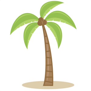 Palm Tree SVG cutting files for scrapbooking beach svg cut file palm tree svg cut clouds svg cut vine svg cut sun svg file