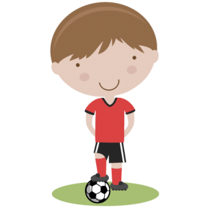 Boy Soccer Player SVG cutting file soccer svg cut files free svgs cute svg cut files for cricut