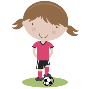 Girl Soccer Player SVG cutting file soccer svg cut files free svgs cute svg cut files for cricut