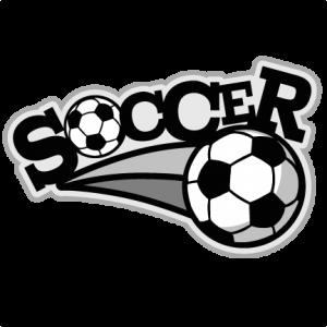 Soccer Scrapbook Title  SVG cutting file soccer svg cut files free svgs cute svg cut files for cricut